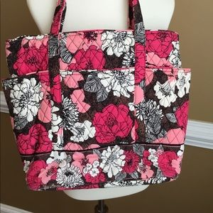 Beautiful Mocha Rouge Vera Bradley Bag